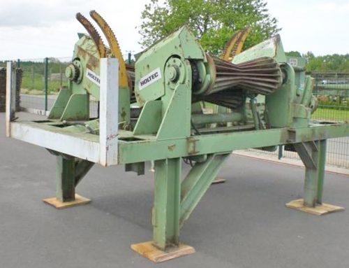 HOLTEC Rundholzkappmaschine