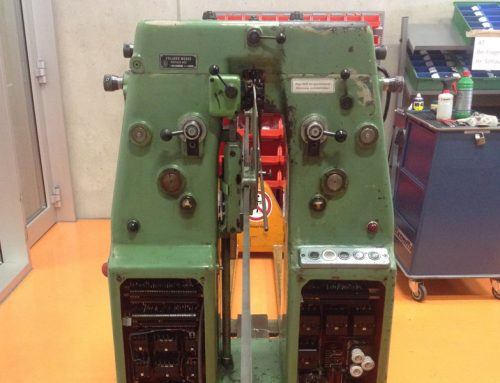 VOLLMER fully automatic gang saw setting machine